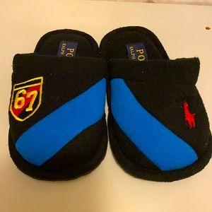 Ralph Lauren Polo Kids Toddler Slippers